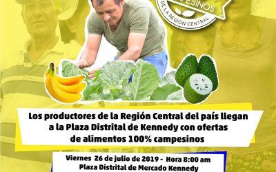 blogbagatela.wordpress.com – Campesinos del centro de Colombia llegarán a vender sus alimentos a la Plaza Distrital de Mercado Kennedy