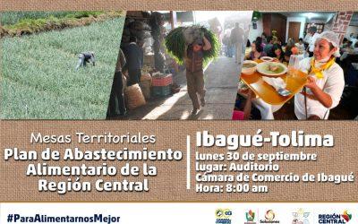 Convocatoria a productores, gremios y transportadores de Alimentos de Tolima