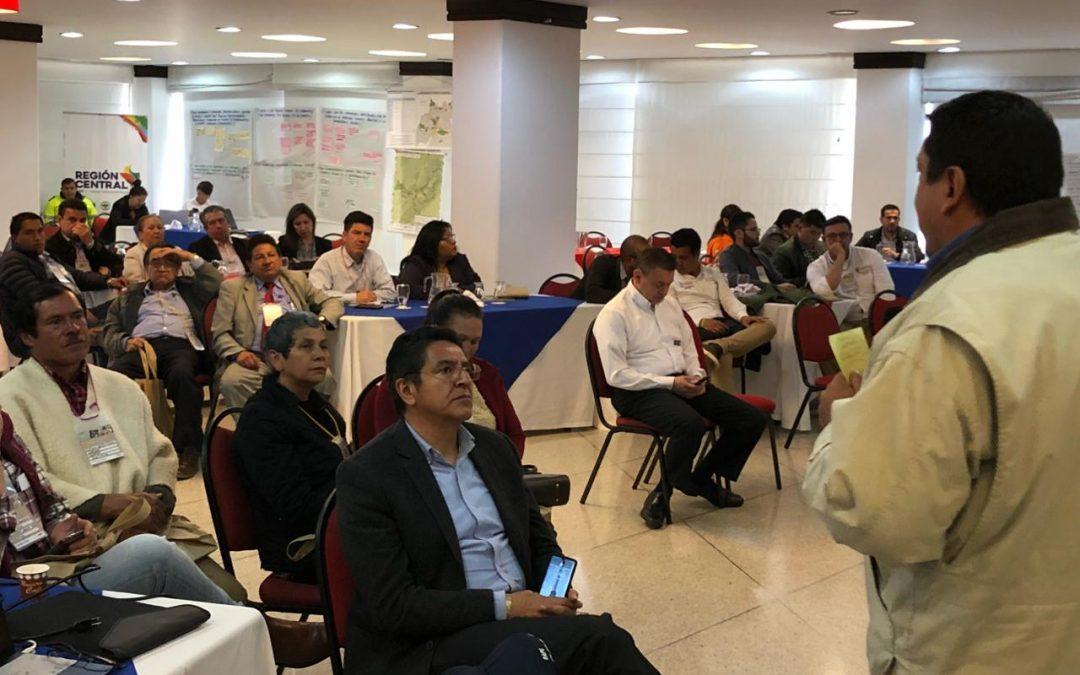 Boyacenses presentaron sus propuestas al Plan de Abastecimiento Alimentario de la Región Central