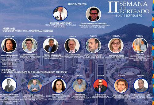 Invitación al Foro Retos del Plan de Ordenamiento Territorial de Bogotá