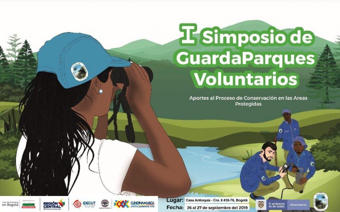 La RAP-E Región central hará parte del Primer simposio de Guardaparques Voluntarios