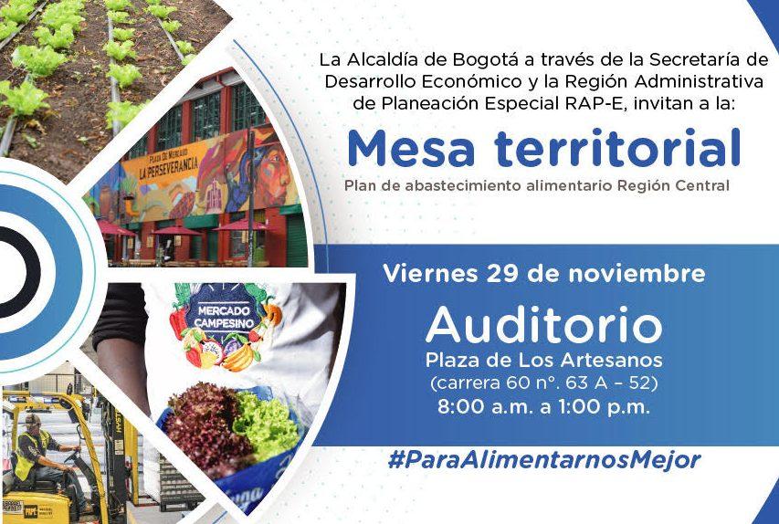 En Bogotá se produce menos del 1% de los alimentos que consume