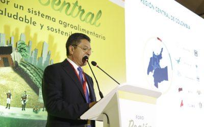 Algunos gobernadores electos de la Región Central presentaron sus apuestas en seguridad alimentaria