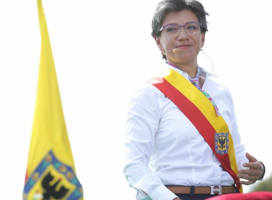 Claudia López Hernández,  Alcaldesa Mayor de Bogotá 2020-2023