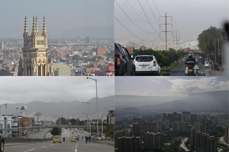 EL POLVO DEL SAHARA LLEGA A BOGOTÁ, CUNDINAMARCA Y BOYACÁ