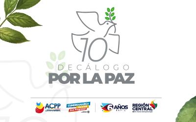 LA RAP-E SE CONSTITUYE COMO ARTICULADOR EN LA CONSTRUCCIÓN DE LA PAZ EN COLOMBIA