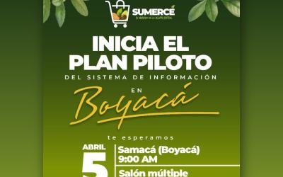 INICIA EJECUCIÓN DEL SISTEMA 'SUMERCÉ', CON PRODUCTORES DE SAMACÁ, EN BOYACÁ