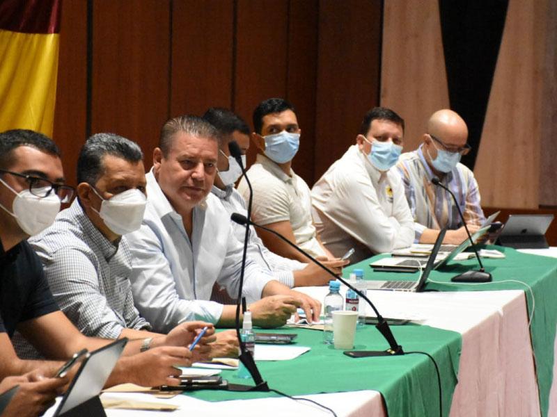 GOBERNADOR DEL TOLIMA SE REFIRIÓ A LA SITUACIÓN DEL PAÍS
