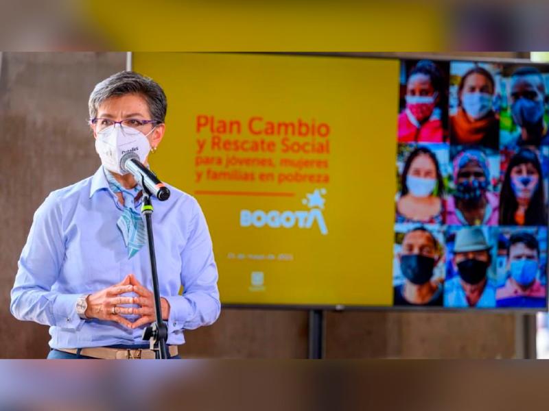 ALCALDESA RADICÓ ANTE EL CONCEJO EL PLAN DE RESCATE SOCIAL Y ECONÓMICO PARA BOGOTÁ