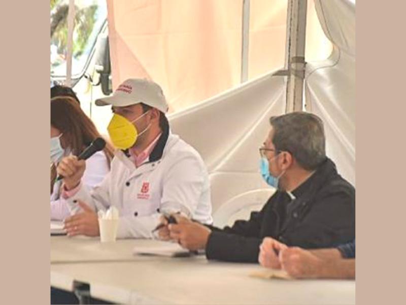 EN BOGOTÁ SE INSTALÓ MESA DE DIÁLOGO PARA BUSCAR SALIDA CONCERTADA A PROTESTAS
