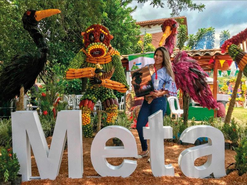 EL META PARTICIPA EN LA FERIA DE LAS FLORES