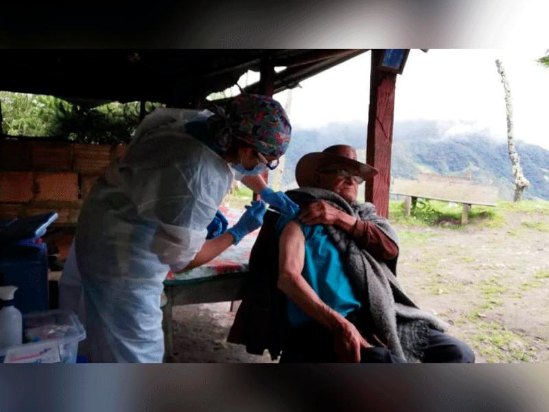 HABITANTES DEL SUMAPAZ YA FUERON VACUNADOS EN SU TOTALIDAD CONTRA COVID-19