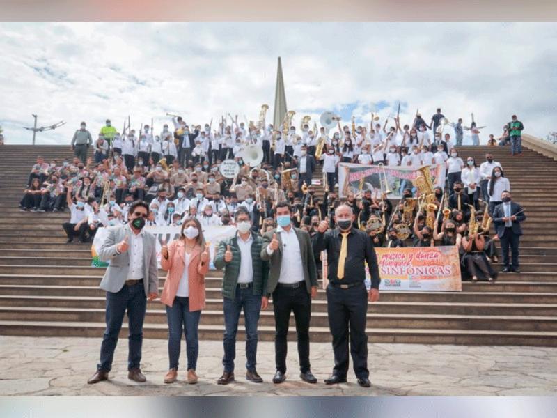 SANTA MARÍA Y NUEVO COLÓN, PRIMEROS GANADORES EN EL CONCURSO DEPARTAMENTAL DE BANDAS MUSICALES