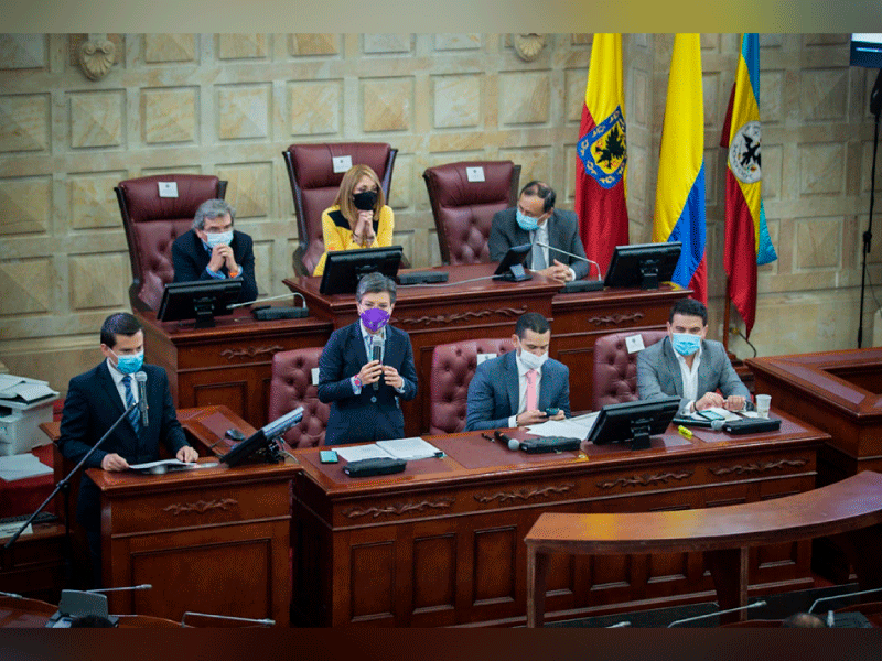 SE RADICÓ ANTE EL CONGRESO PROYECTO DE LEY QUE REGLAMENTARÁ LA REGIÓN METROPOLITANA