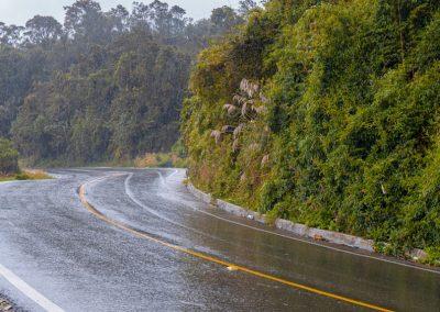 Carretera vía Zipaquirá Pacho