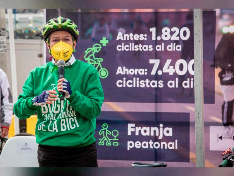 MÁS DE 7.400 CICLISTAS SE BENEFICIARÁN CON LA NUVA CICLORRUTA EN LA CALLE 13
