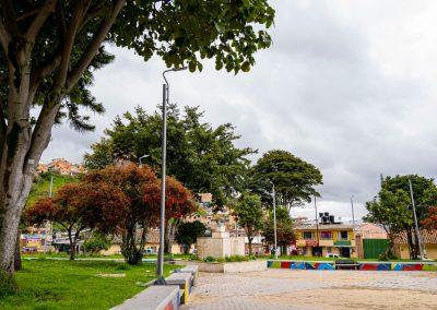 Parque Inestrosa Daza Terraplén