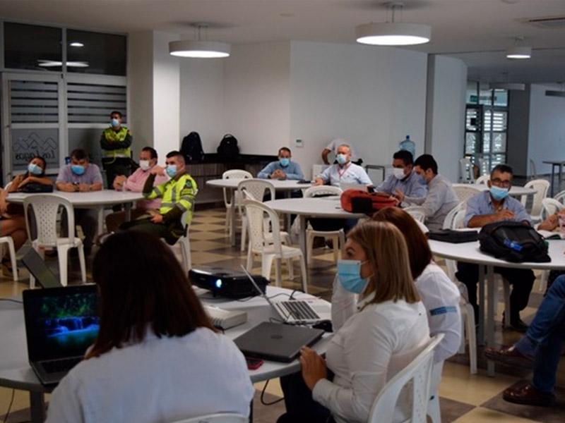 SE SOCIALIZARON LAS ACTIVIDADES INICIALES EN CONSTRUCCIÓN DE LA RUTA 45